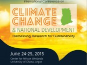 Climate Change and National Development Conference June 24-25 Book of Abstracts